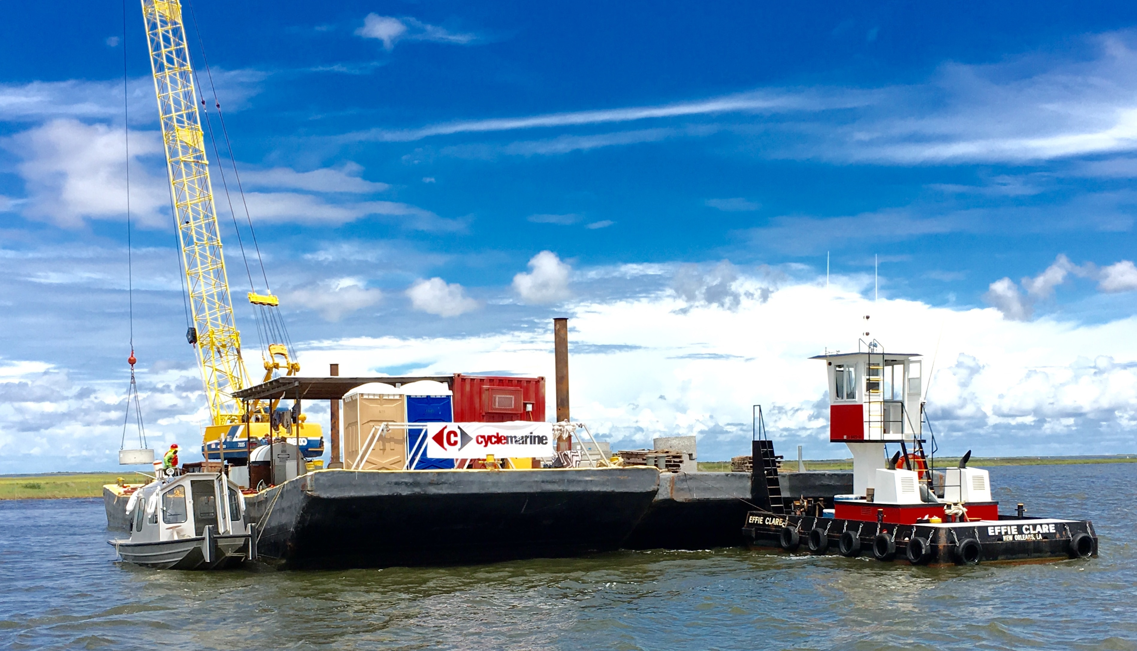 Cycle Marine awarded $20M job to repair deck at the Port of New Orleans wharf