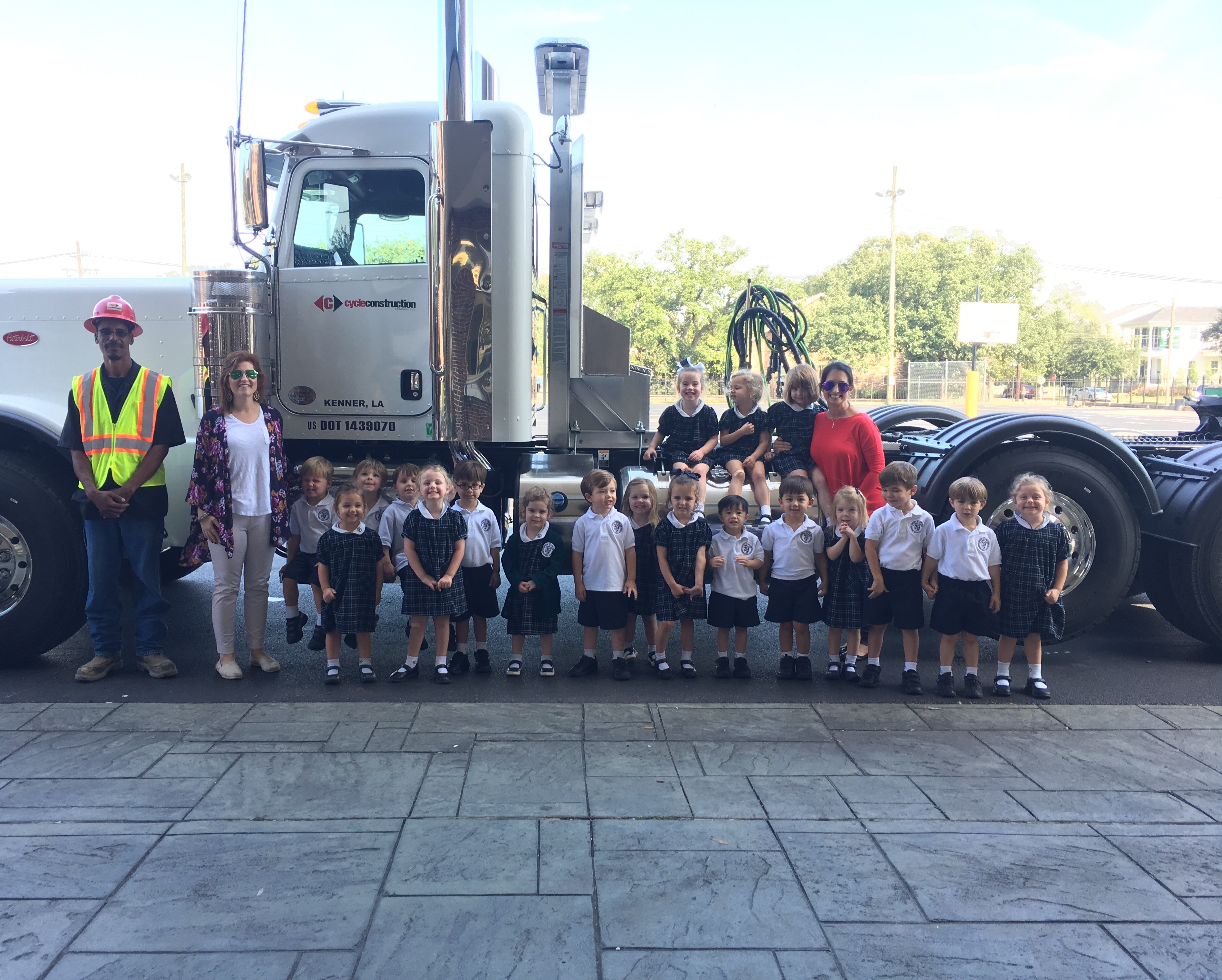 Cycle_Visits_St_Dominic_Pre_K_Heavy_Haul_Trucking